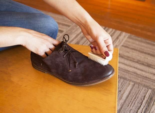 Чистим обувь в домашних условиях