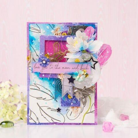 Открытки с цветочным декором
