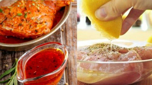 Приправа с лимоном и майораном для жаркого