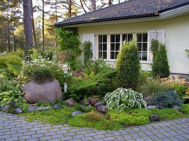 Ландшафтный дизайн в скандинавском стиле на вашем участке