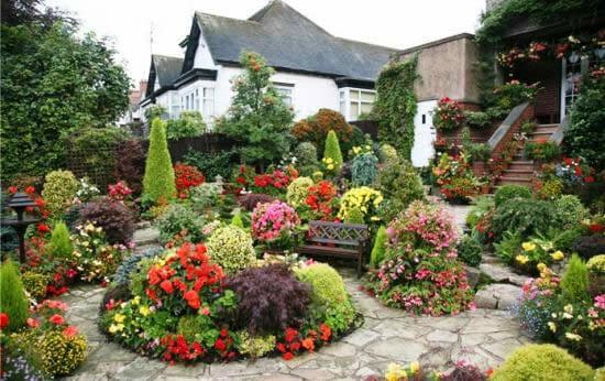 Пейзажный английский стиль в ландшафтном дизайне