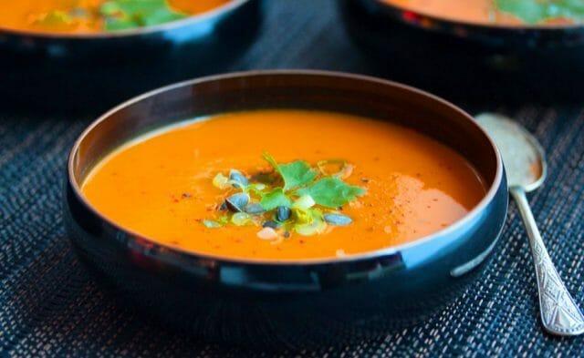 Суп-пюре морковный с репой