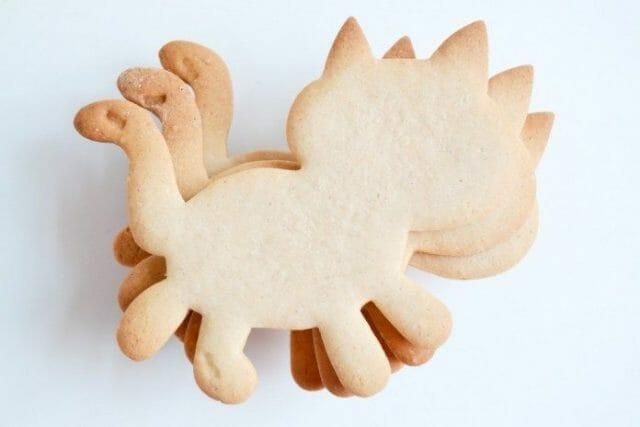 Ингредиенты для печенья с корицей «Сладкий кот»