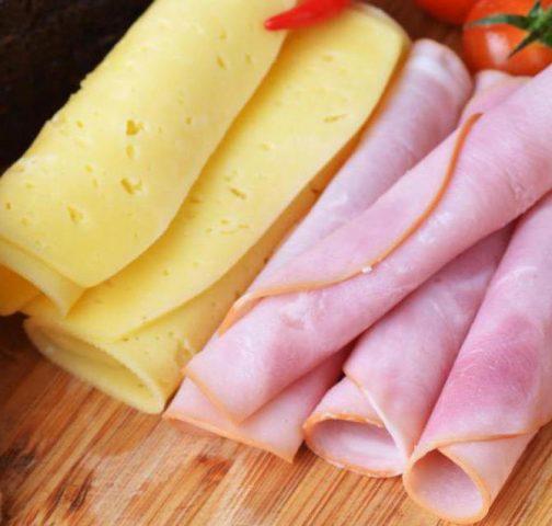 Вкусный рецепт закрытого бутерброда с ветчиной