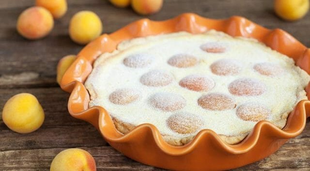 Австрийский десерт с абрикосами