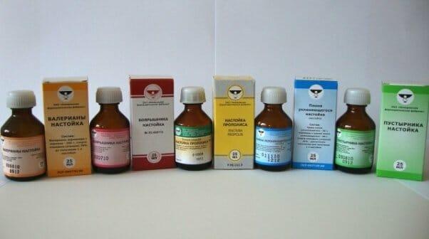 Лекарственные настойки