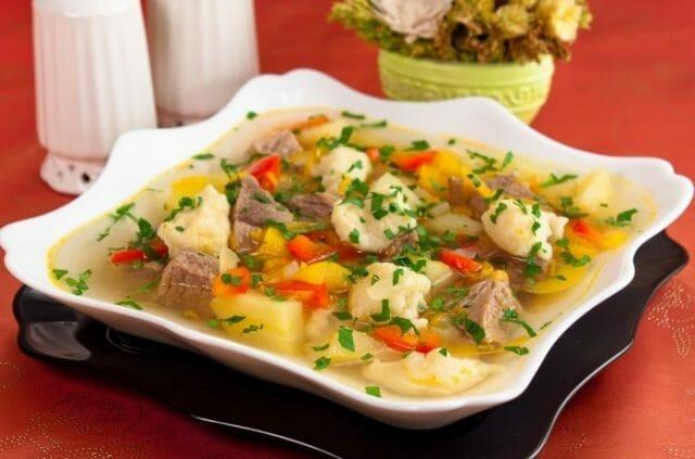 Супы с пряными клецками