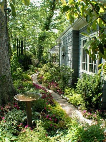 В каждом саду постоянно накапливаются растительные остатки
