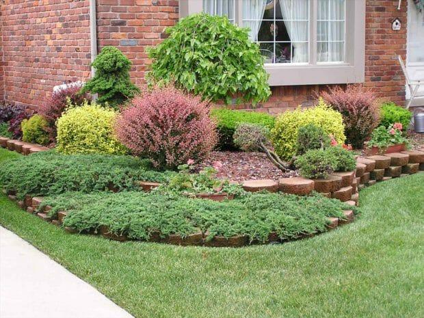 Деревья и кустарники не только дробят сад на отдельные зоны, но и создают в нем интересные фокусные точки