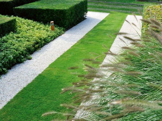 Сад с гравийным покрытием
