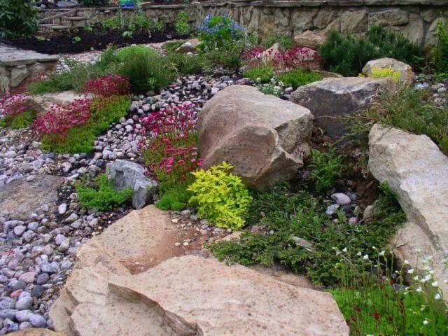 Обустройство каменистого садика
