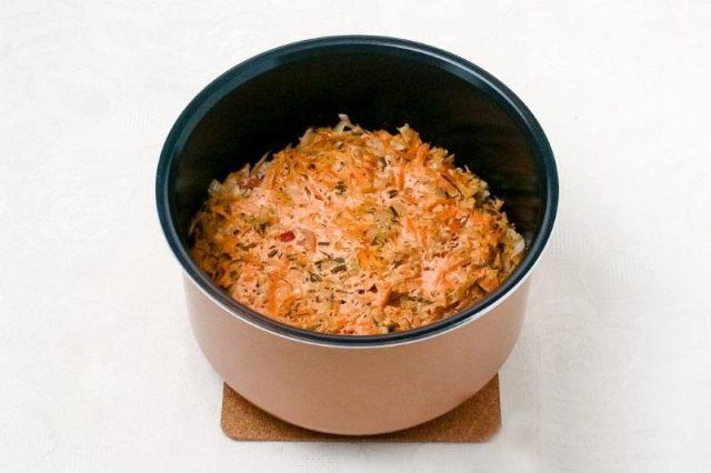 Блюда из риса: голубцы овощные