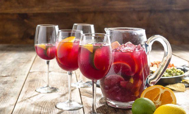 Лучший рецепт Сангрии – вкусный освежающий напиток из Испании