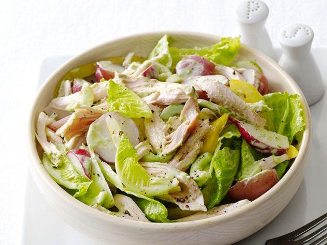 Такой салат Вы еще не пробовали! Секретный рецепт приготовления курицы с миндалем