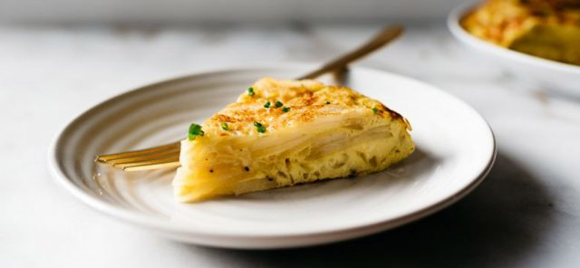 Самый вкусный рецепт картофельной тортильи
