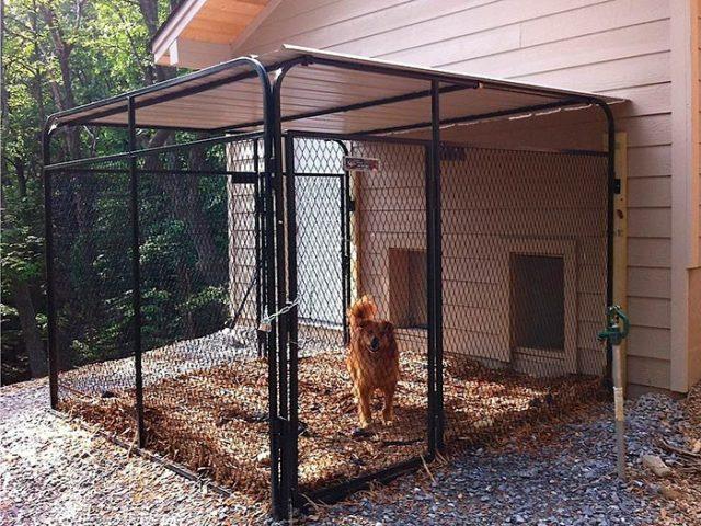 Советы по самостоятельной постройке вольера для собаки