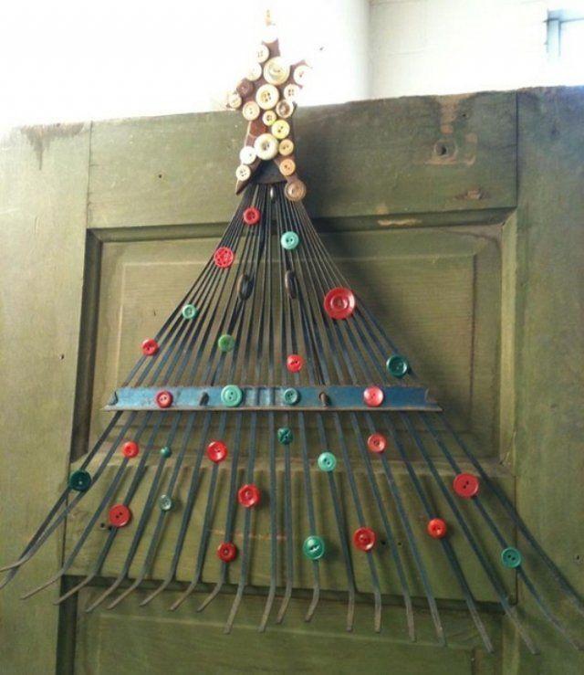Отличные идеи, как сделать новогоднюю елку своими руками
